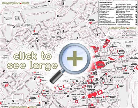 printable street map edinburgh edinburgh maps top tourist attractions free printable