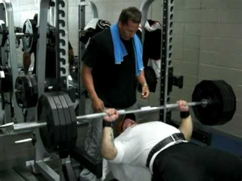 405 bench press 405 lbs bench press for 9 reps youtube