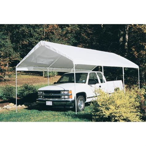 cing awnings and canopies 10x20 hercules snow load canopy shelter garage white