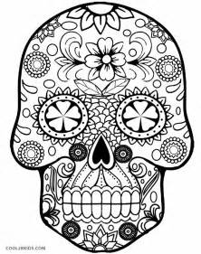 skulls to color printable skulls coloring pages for cool2bkids