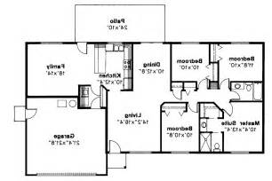 4 bedroom ranch house plans with basement free 4 bedroom ranch house plans house style ideas