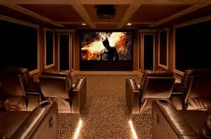 Carpet adds to the appeal of the home theater design alusta