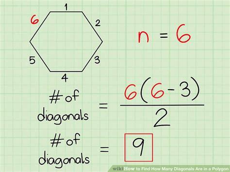 find   diagonals    polygon  steps