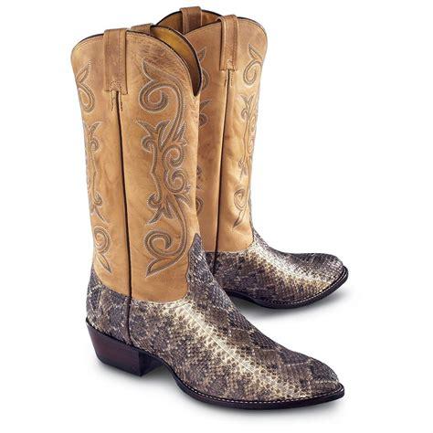 s nocona diamondback rattlesnake boots