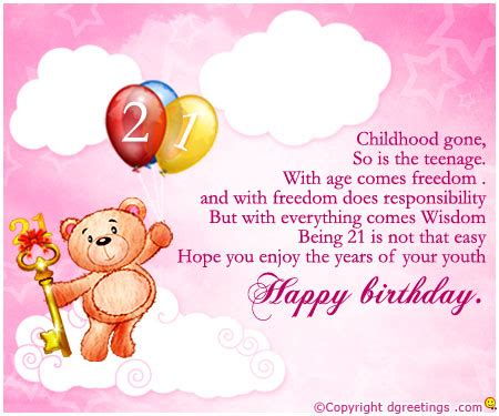 Happy 21 Birthday Quotes Happy 21st Birthday Quotes For Friends Image Quotes At