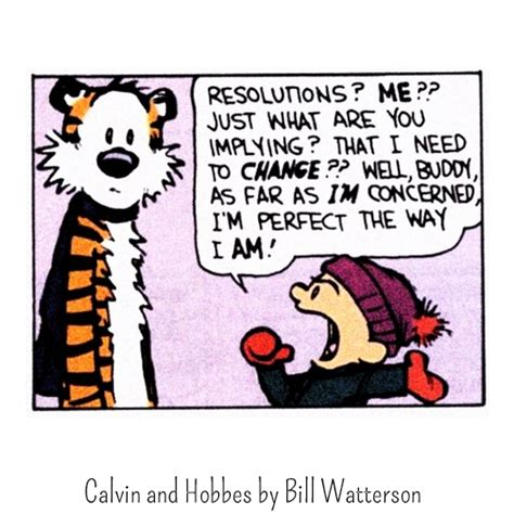 calvin and hobbes new years resolution the smart s guide to new year s resolutions this is
