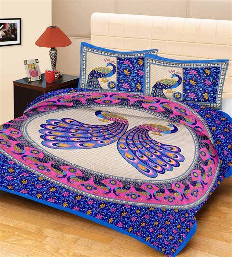 best bedsheet metro living cotton animal double bedsheet buy metro