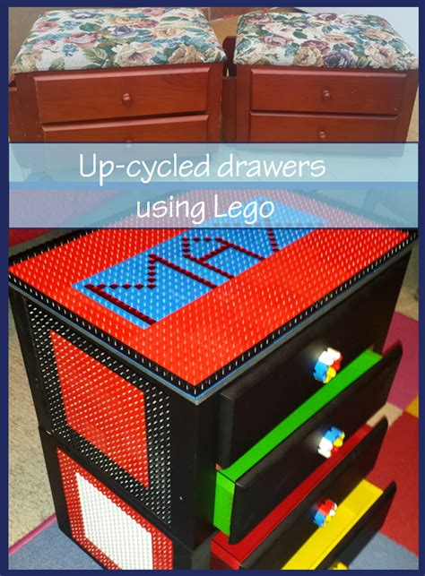 Lego Drawers by Craft Up Cycled Drawers Using Lego A Diy And