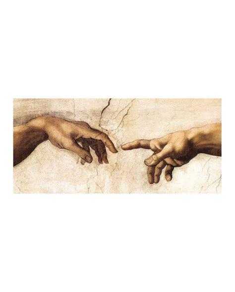 miguel angel cuadro manos creacion dios y el hombre de miguel angel cuadro