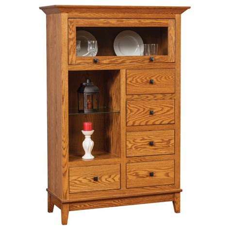 Canterbury Furniture by Canterbury Cabinet 508 Amish Crafted Furniture