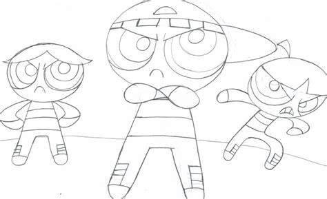 Mojo Jojo Coloring Pages Coloring Pages The Rowdyruff Boys Coloring Pages