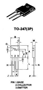 d1047 transistor uses d1047 datasheet d1047 pdf pinouts circuit mospec semiconductor