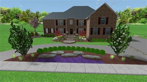 circle driveways will add function and a great flow with