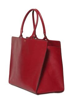 Coach 6in1 001 1 Leather Emboss s cherry croc embossed leather jucca shopper