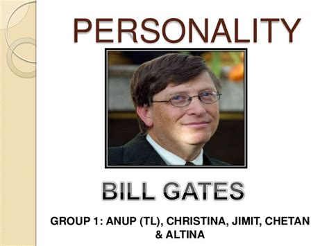 bill gates biography ppt free personality bill gates ppt