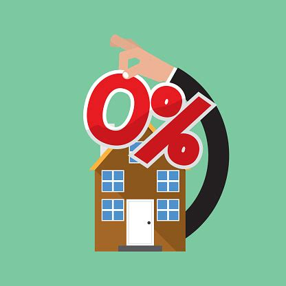 percent home loan vector illustration stock