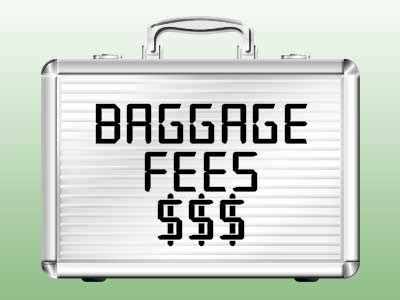 american checked bag fee allegiant american delta united airlines checked b