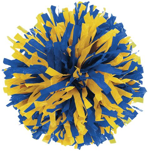 Pom Pom Pompom 2 color plastic youth pom omni cheer