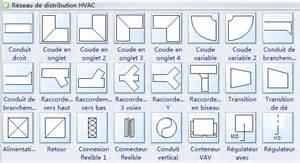 Event Floor Plan Designer symboles de plan de chauffage ventilation et climatisation