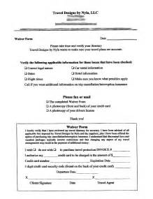 insurance waiver template waiver form free printable documents