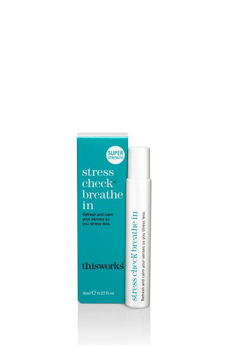 stress check breathe in rollerball to aid calm this works