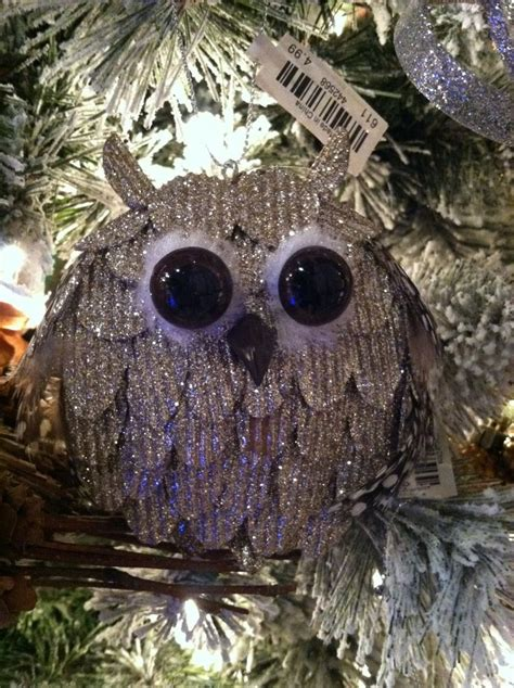 owl christmas ornament cracker barrel 2 99