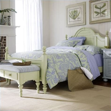 Coastal Bedroom Furniture | coastal living by stanley furniture bedroom set in sand