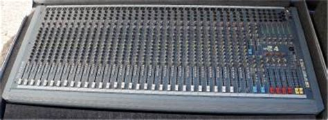 Mixer Spirit Live 4 Bekas spirit live 4 soundcraft 32 channel mixer power supply and road