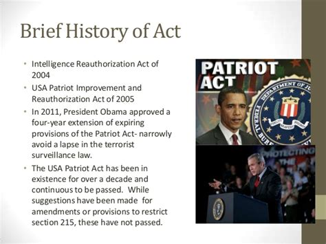 section 215 of the usa patriot act szkolar section 215 policy issue brief presentation