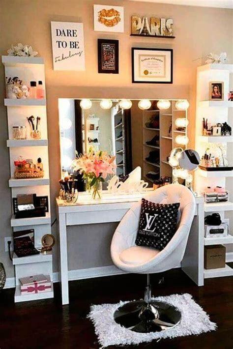 diy simple makeup room ideas organizer storage
