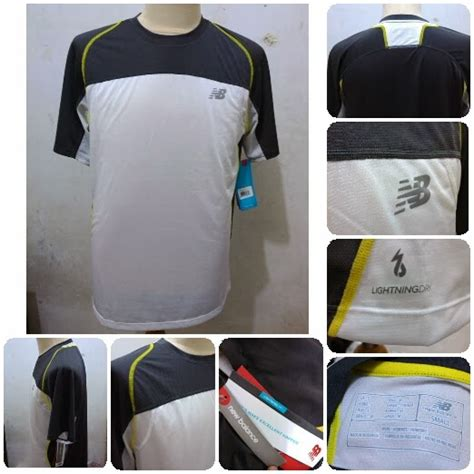Harga Baju New Balance t shirt running new balance lightingdry jamski77