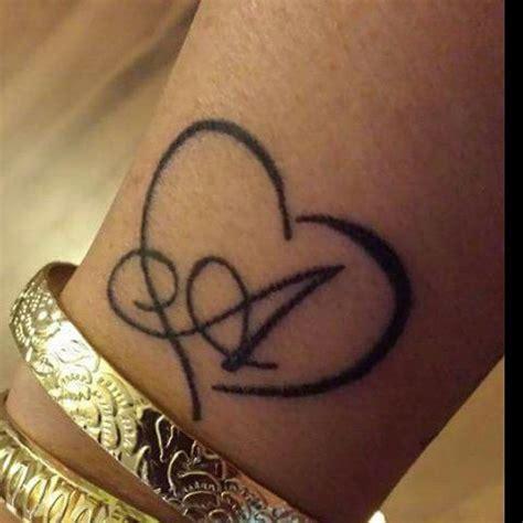 mulpix tattoo herz buchstabe smalltattoo heart