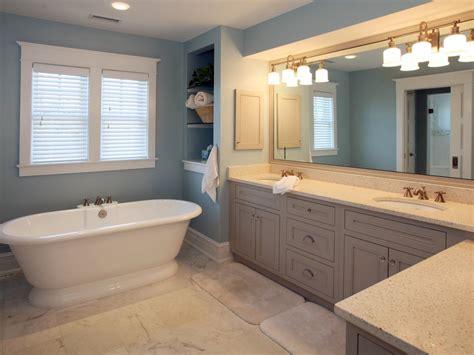 blue tub bathroom pedestal tub designs pictures ideas tips from hgtv hgtv
