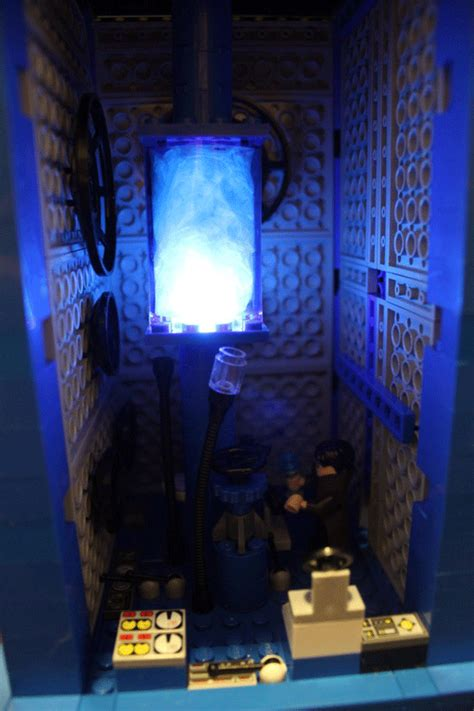 doctor who thing of the day custom lego tardis