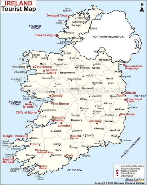 map my vacation ireland travel map my infamous great great grandmother