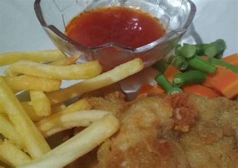 resep chicken steak saus asam manis oleh meisyarah cookpad