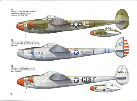 p 38 lightning aces of the pacific and review p 38 lightning aces of the 82nd fighter group ipms usa reviews