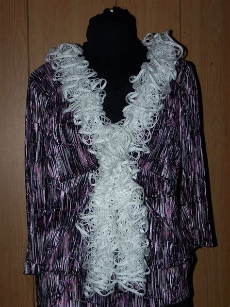 how to knit a sashay scarf step by step loom ruffle scarf and loom knitting on