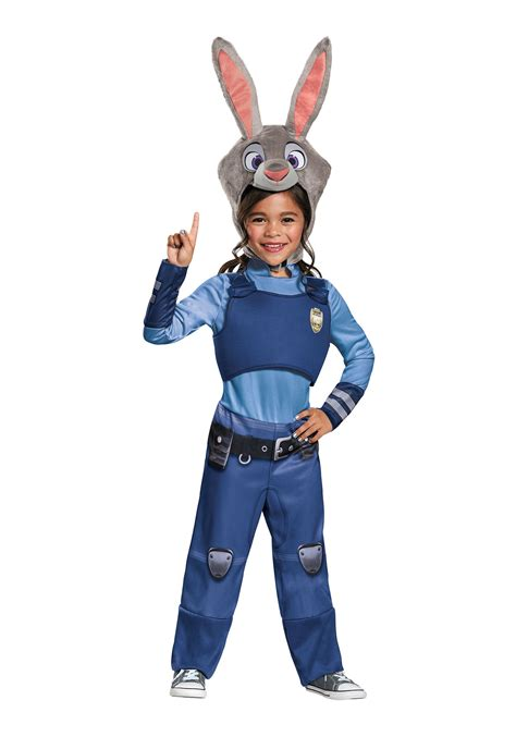 halloween costumes zootopia judy hopps girls costume
