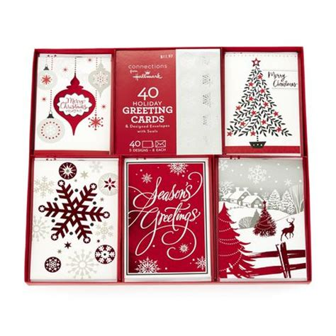 Walmart Boxed Cards - hallmark collection boxed cards walmart exclusive