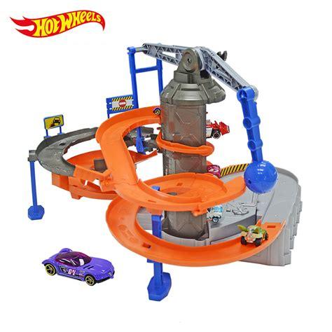 Hotwheels Set 6 aliexpress buy hotwheels zone chaos set track play toys plastic metal miniatures