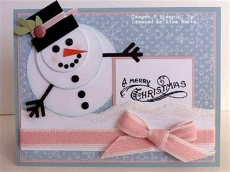 snowman cards to make 60 handmade cards pink lover