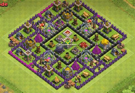 ultimate th9 layout th9 farming base quot the ultimate quot eels