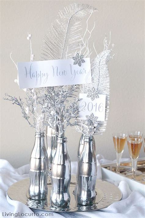 centerpiece ideas for the new year diy projects craft