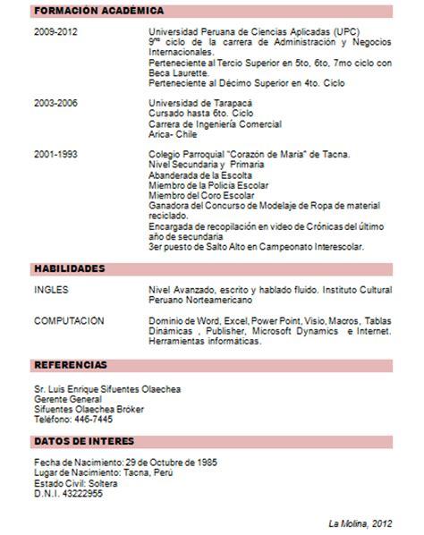 Plantilla De Curriculum Por Competencias Liderazgo Upc 2012 1 Julio 2012