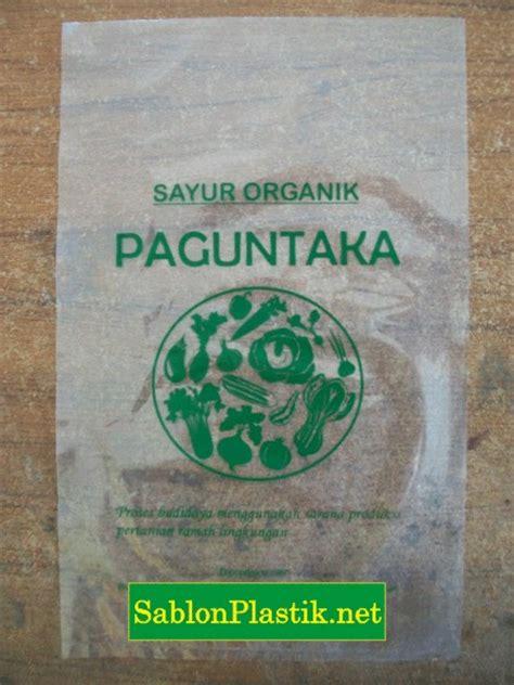 Sablon Plastik Kemasan Roti print plastik kemasan sablon plastik