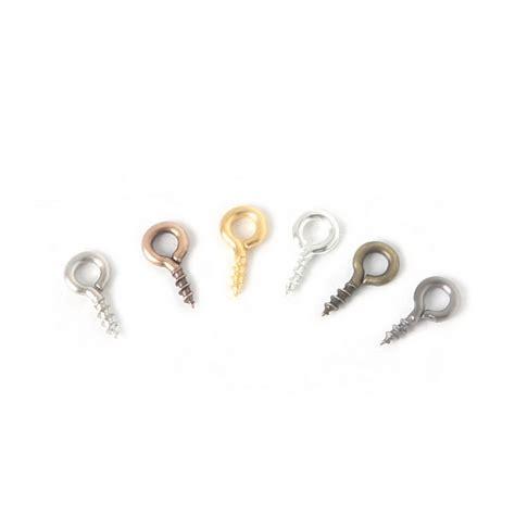 Small Pins 200pcs small tiny mini eye pins eyepins hooks eyelets