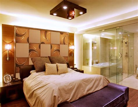 bedroom with mirror wall background wall mirror wall tiles contemporary bedroom