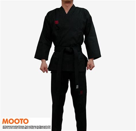 Mooto Mooin Belt Black Belt black taekwondo taekwondo dobok mooto taekwondo clothes mooto dobok belt