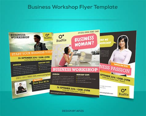 business for promotion template business workshop promotion flyer flyer templates on